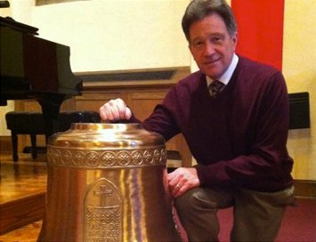 New Cast Bronze Bell at Lake of the Isles Lutheran Church