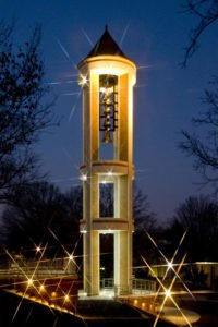 bell-tower-dalton-state-night