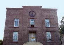 Custom tower clock completes newly renovated apartments for College Of Charleston