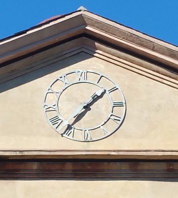 Randolph Hall Clock Restoration