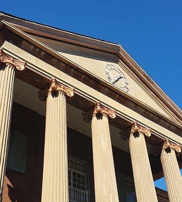 Randolph Hall Clock Restoration