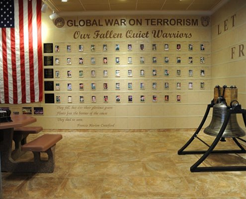 Liberty Bell Replica installation at Fort Huachuca, Arizona