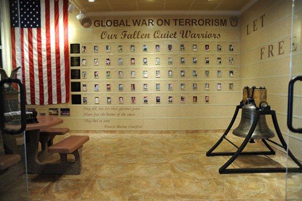 Liberty Bell Replica installation at Fort Huachuca, Arizona
