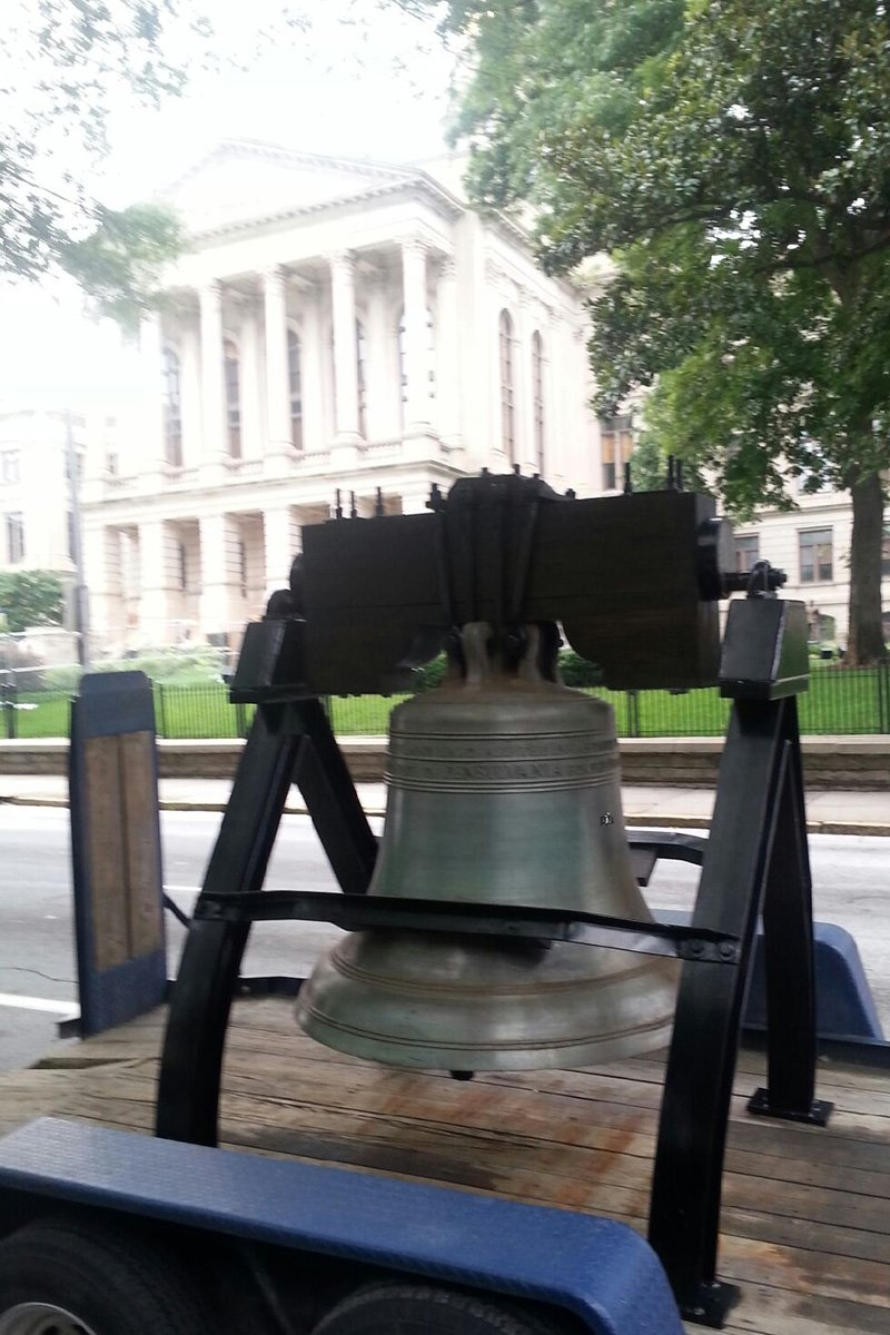 Georgia Liberty Bell Replica Restoration