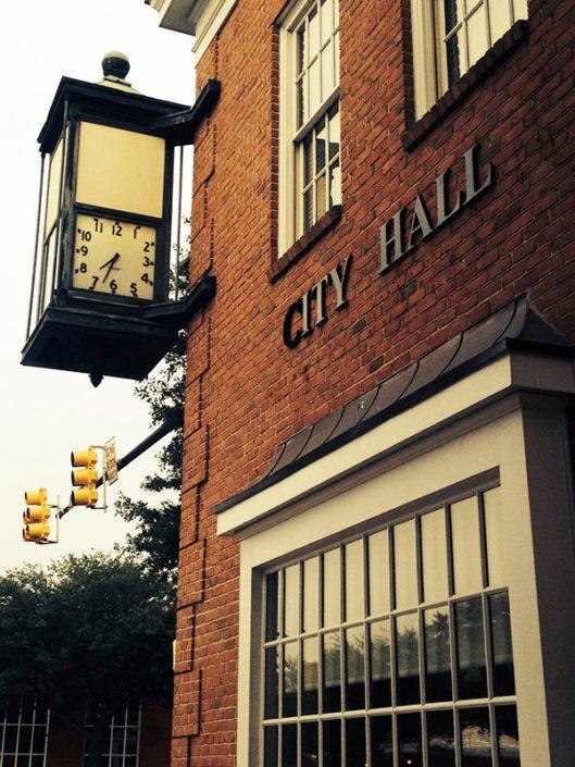 City Hartsville Historic Time Clock