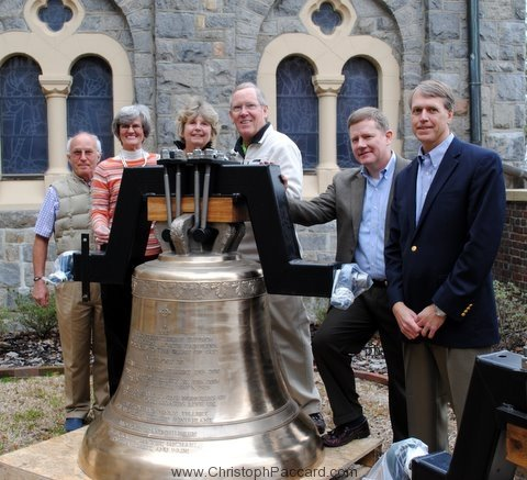 Cast Bronze Bell First Presbyterian Wilmington North Carolina 02