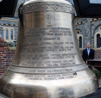 Cast Bronze Bell First Presbyterian Wilmington North Carolina