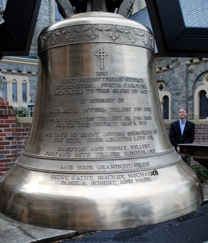 Cast Bronze Bell First Presbyterian Wilmington North Carolina