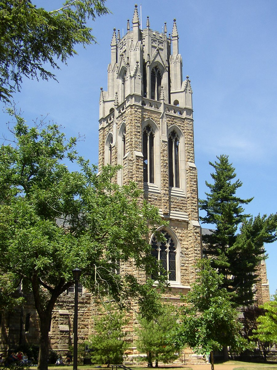 University Tennessee Sewanee Carillon Bell Tower