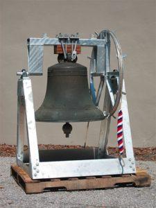 cast bronze church bell