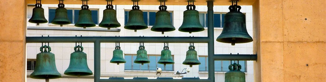 Cathedral of Our Lady of the Angels Bell Installation