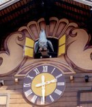Glockenspiel Clock with Moving Figures