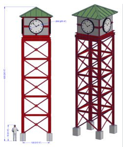 The Western Clock Tower Architectural Design