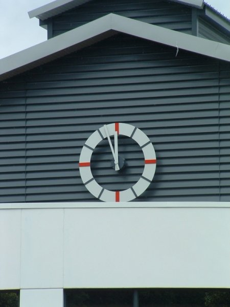 Aluminum Ring Marker Clock
