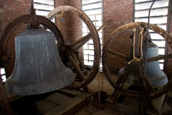 Bells before restoration and polishing