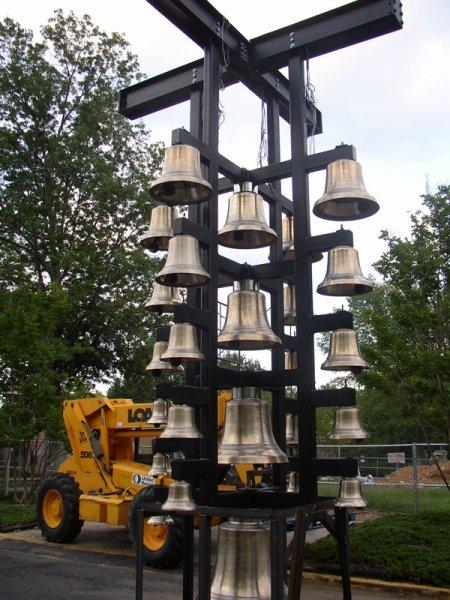 Cast Bronze Bell Tree