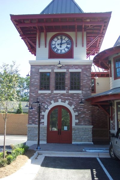 Big Canoe clock tower