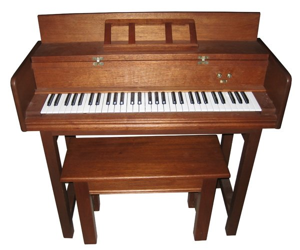 Traditional Carillon Keyboard Open
