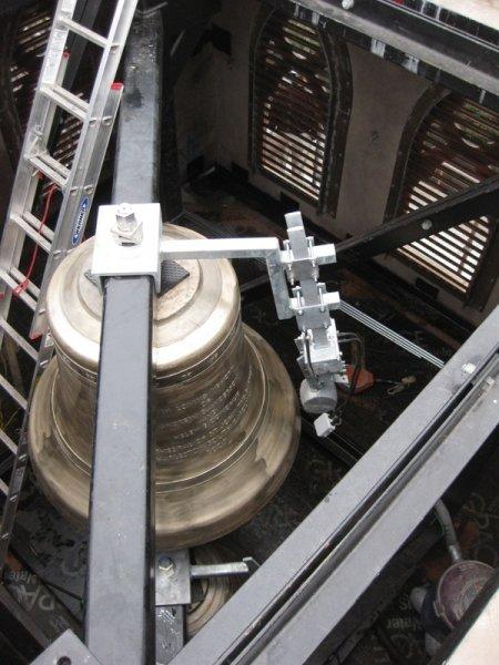 Cathedral of Saint John the Baptist Cast Bronze Bell Installation, Charleston, SC