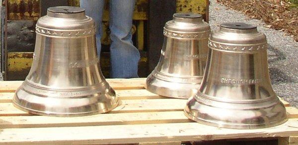 Lutheran Church Redeemer New Cast Bronze Bells