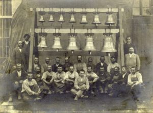 Paccard Foundry workers from 1900