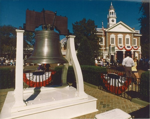 Paccard full-size Liberty Bell Replica