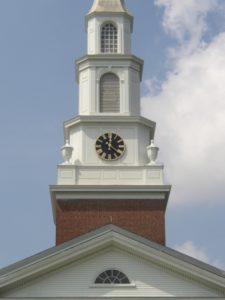 Black Face Tower Clock, Snyder Memorial Baptist Church