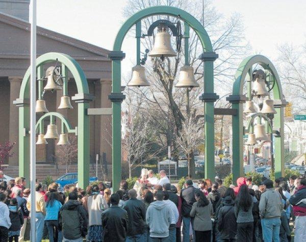 St. Aedans Bell Sculpture