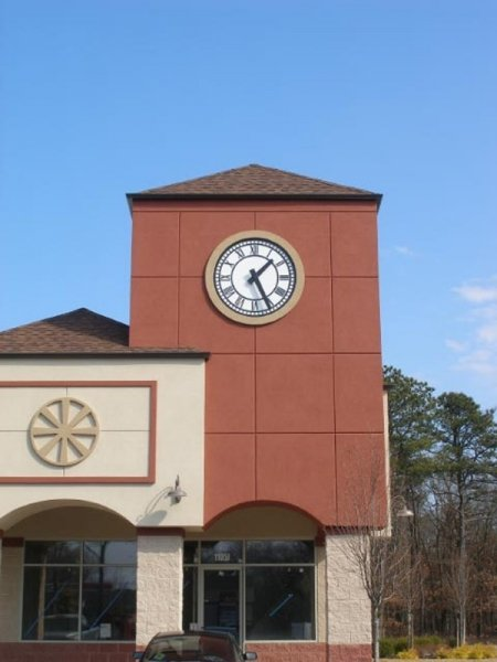 Store Front tower clock