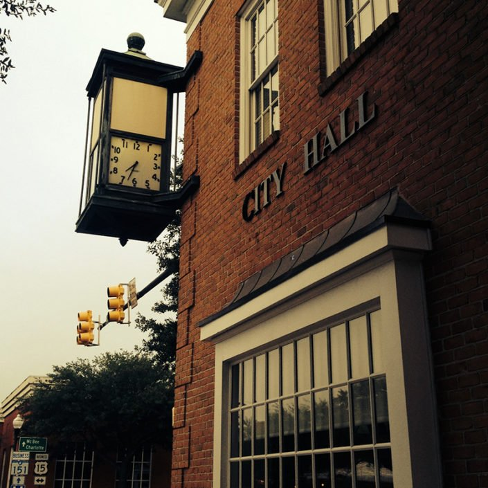 City Hartsville Historic Time Clock