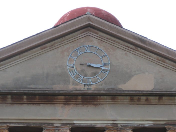 Wall Clock Randolph Hall