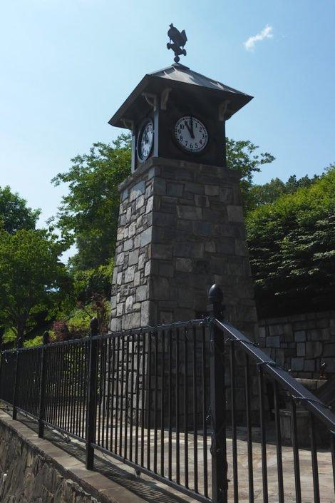 Clock Tower Restoration in Tryon, North Carolina