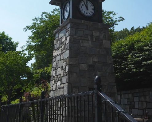 Clock Tower Restoration in Tryon, North Carolina