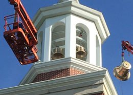 Carillon Bell Installation Union University-02