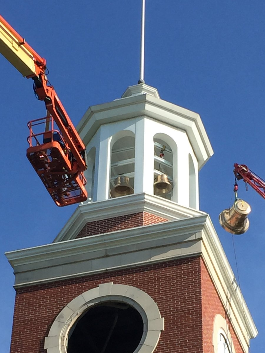 Union University Carillon Bell Installation