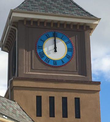 New Clock Tower Face Project