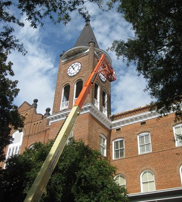 Tower Clock Restoration at Wilson Hall Converse College 02