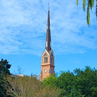St. Matthews Church clock steeple restoration