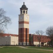Guthrie Bell Tower on the Western Kentucky University campus, Bowling Green Kentucky