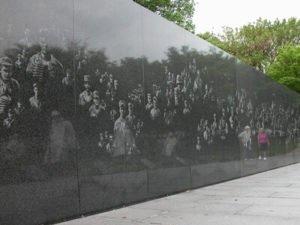Korean War Veterans Memorial located in the West Potomac Park in Washington, D.C.