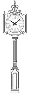The Howard Street Clock
