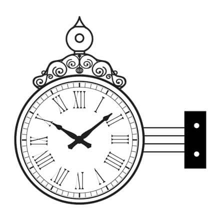 Manhatten Bracket Clock